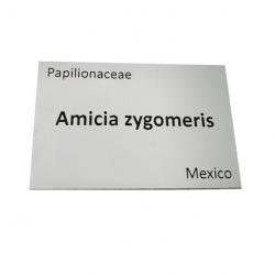 Engraved Silver Aluminium Plant Label