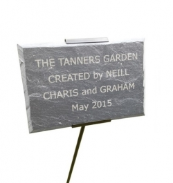 Slate Plaque with Holder