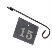 Engraved Slate Label with Label Hanger