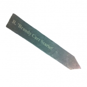 Engraved, Pointed Slate Garden Labels