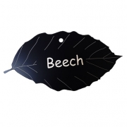 Engraved Beech Tree Leaf Label