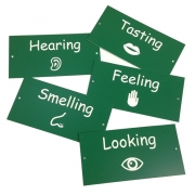 Engraved Sensory Garden Labels, Multi-Pack
