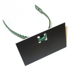Blank Adjustable Tree Label and Tree Tie