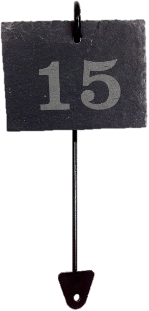 Slate Labels and Stakes